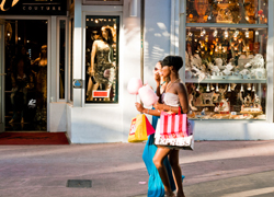 De compras en Miami