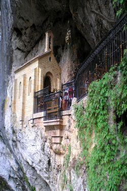 Santuario y Basílica de Covadonga en Asturias