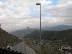 Llegar por carretera a Granada