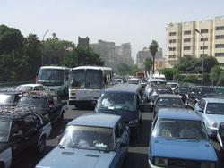 Llegar por Carretera a El Cairo