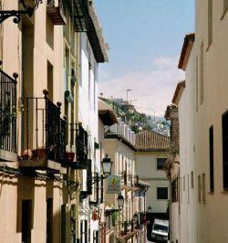 Barrio de El Realejo de Granada