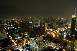 Vida nocturna en Bangkok