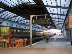 Llegar en Tren a Lisboa