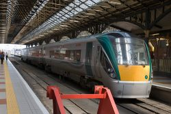 Llegar en tren a Dublín