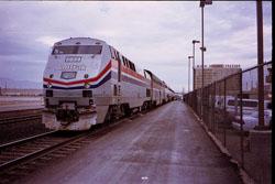 Llegar en Coche o Tren a Las Vegas