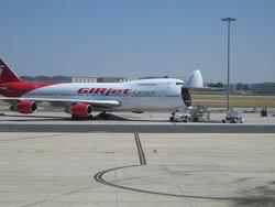 Llegar en Avion a Sevilla