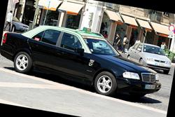 Moverse en Taxi o Coche por Lisboa