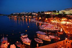 Llegar en barco a Menorca