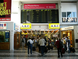 Llegar en Avion a Viena