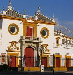 La Plaza de Toros de Sevilla