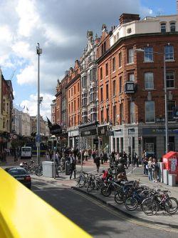 Grafton Street de Dublín